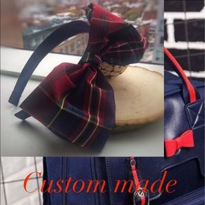 Custom Made Headband (Plaid)❤️❤️❤️